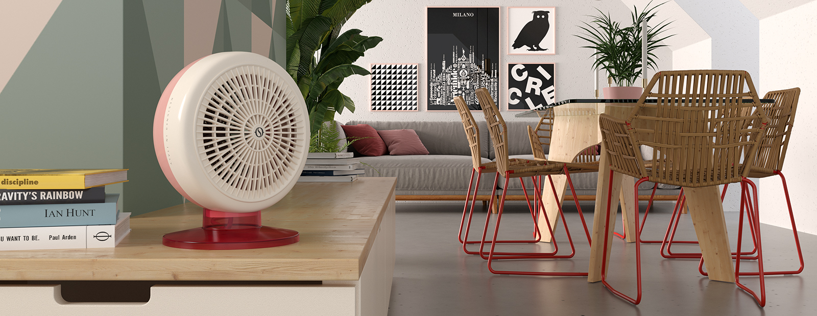 caldo circle 22 olimpia splendid. Black Bedroom Furniture Sets. Home Design Ideas